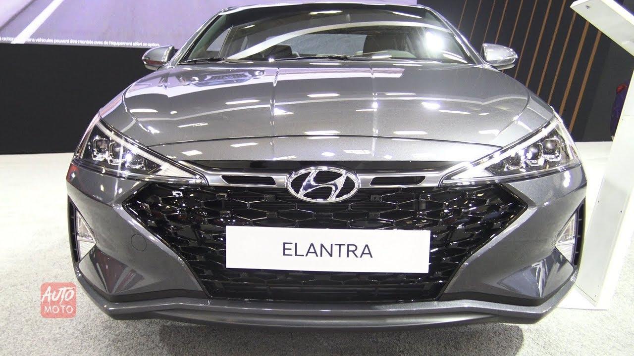 2019 Hyundai Elantra Sport Exterior And Interior 2019 Quebec