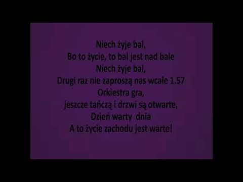 Maryla Rodowicz -  Niech żyje bal + tekst