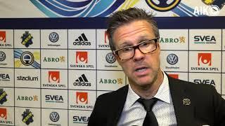 Rikard Norling analyserar vinsten mot IFK Norrköping