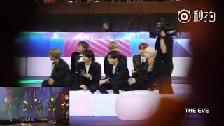 Fancam  Bts Reaction Exo Live Power & The Eve At Mama In Hong Kong 2017 171201