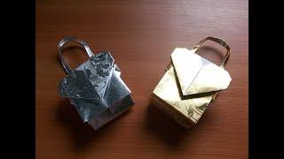 Как Сделать Бумажный Пакет Оригами с Сердечком. Упаковка Подарков Своими Руками(Показываю и Рассказываю, как сделать из бумаги своими руками пакетик с сердцем для подарка. К сожалению,..., 2015-02-08T01:27:16.000Z)