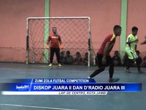 Brimob Teratai Polda Jambi Jadi Juara Zumi Zola Futsal Competition