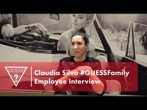 Claudia Silva #GUESSFamily Employee Interview