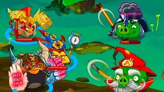 Энгри Бердс ЭПИК #122 ЗЛЫЕ ПТИЧКИ / Игровой Мультик про Bad Piggies и Angry Birds #КРУТИЛКИНЫ