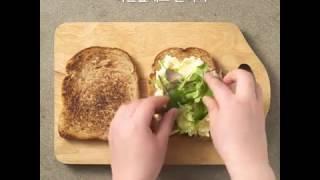 간식 : 에그 샌드위치…