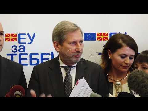 Хан замина од Македонија со апел за брзо спроведување на реформите