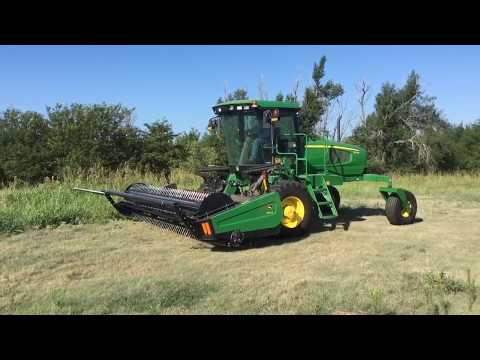 Repeat John Deere W235 windrower by Tom Harder - You2Repeat