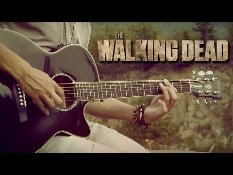 The Walking Dead - Theme Song - Fingerstyle Guitar Cover by Albert Gyorfi [+TABS]