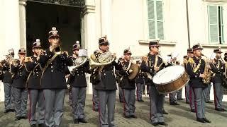 167° Anniversario della Fondazione il cambio della guardia al Quirinale