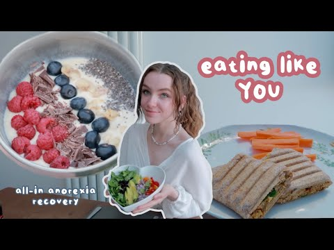 Download I ATE LIKE MY SUBSCRIBERS FOR A DAY   all-in anorexia recovery