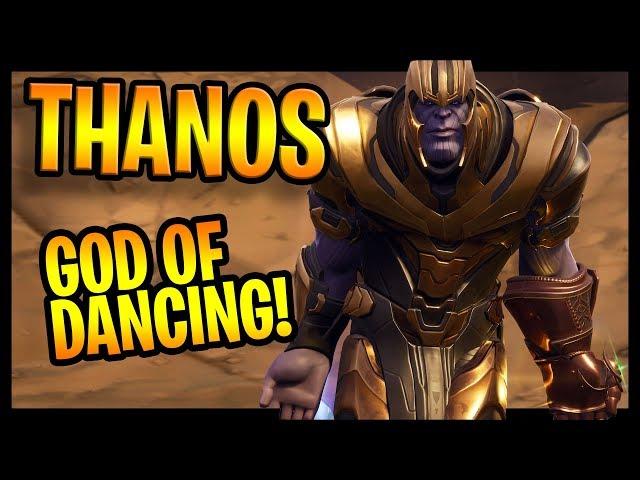 Dancing Thanos From Fortnite Best Memes