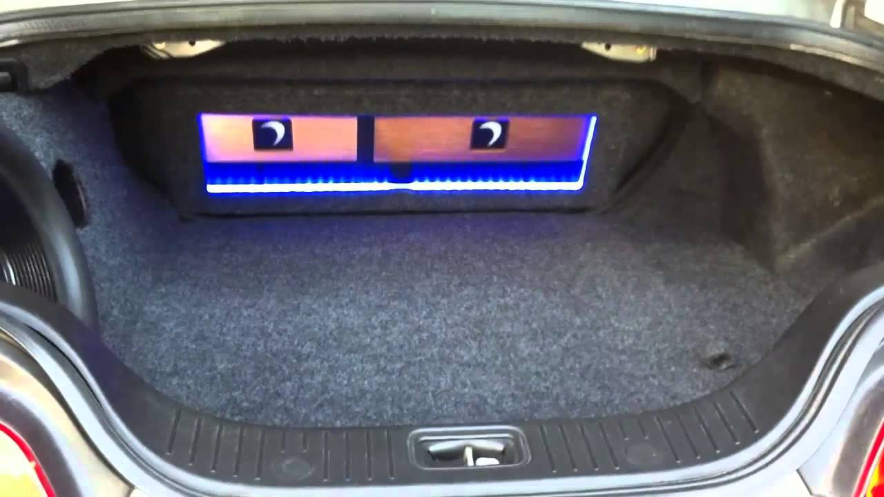Infinity g35 sound system w custom trunk subwoofer box youtube vanachro Gallery