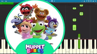 Muppet Babies Theme Song - EASY Piano Tutorial