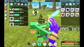 Fighting Level 1003 God Bag Player | Booga Booga (Roblox)
