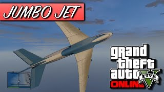 GTA 5 Online - How To Get The Jumbo Jet Cargo Plane! - Biggest Plane In Grand Theft Auto 5! (GTA V)