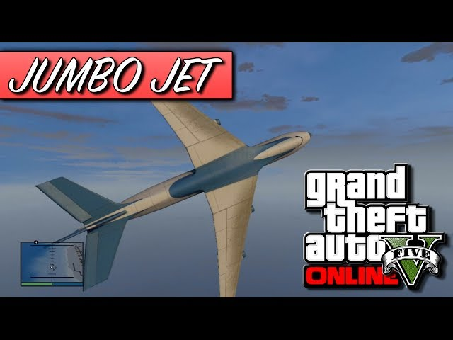 GTA 5 Online - How To Get The Jumbo Jet Cargo Plane! - Biggest Plane In Grand Theft Auto 5! (GTA V) Travel Video