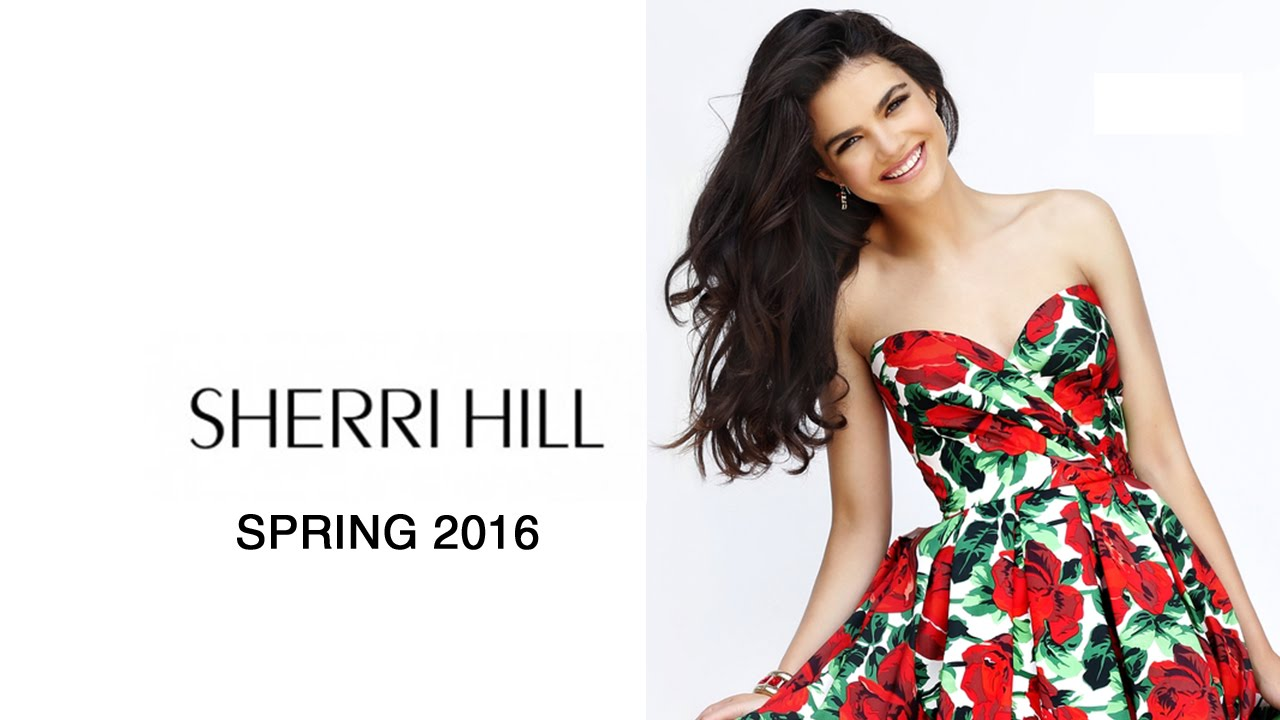 Sherri Hill 2016 Prom Dresses - YouTube