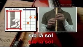 Sway - Pussycat Dolls - Karaoke para flauta - Acordes para guitarra - José Galvão.mpg
