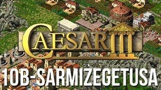 Caesar 3 - Mission 10b Sarmizegetusa Military Playthrough [HD]