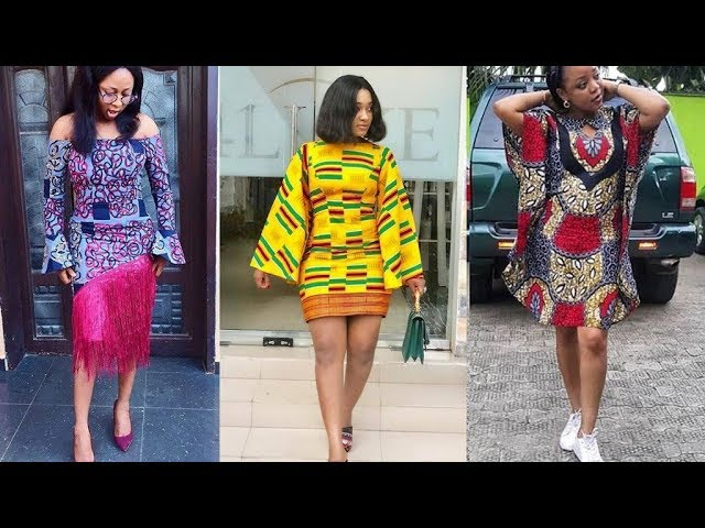 Simple Ankara Short Gown Styles For You