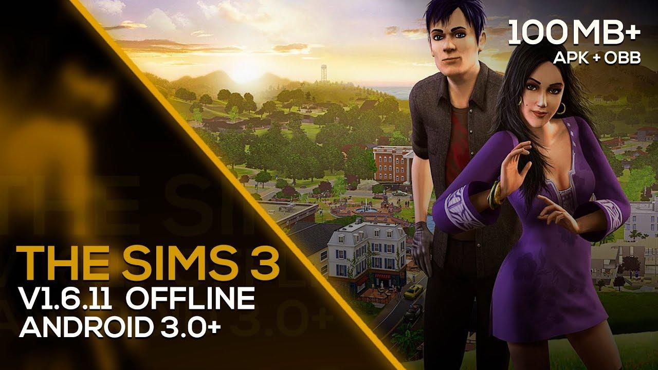The Sims 3 v1.6.11 APK + OBB (OFFLINE) ATUALIZADO  #Smartphone #Android