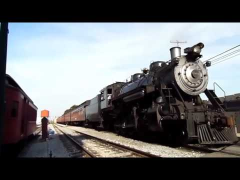 *MUST WATCH* An Evening @ Strasburg Railroad! Features Baldwin 90 And A Tour Of A Museum 8/27/16!!!!