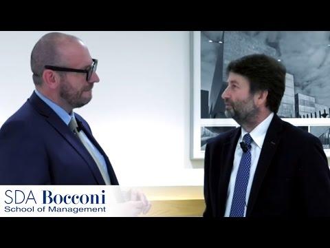 A tu per tu con il Ministro Dario Franceschini | SDA Bocconi