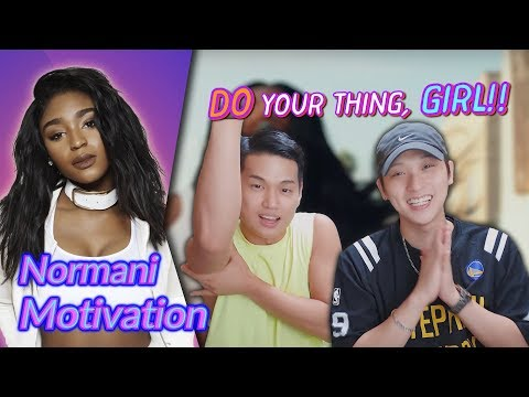 K-pop Artist Reaction Normani - Motivation