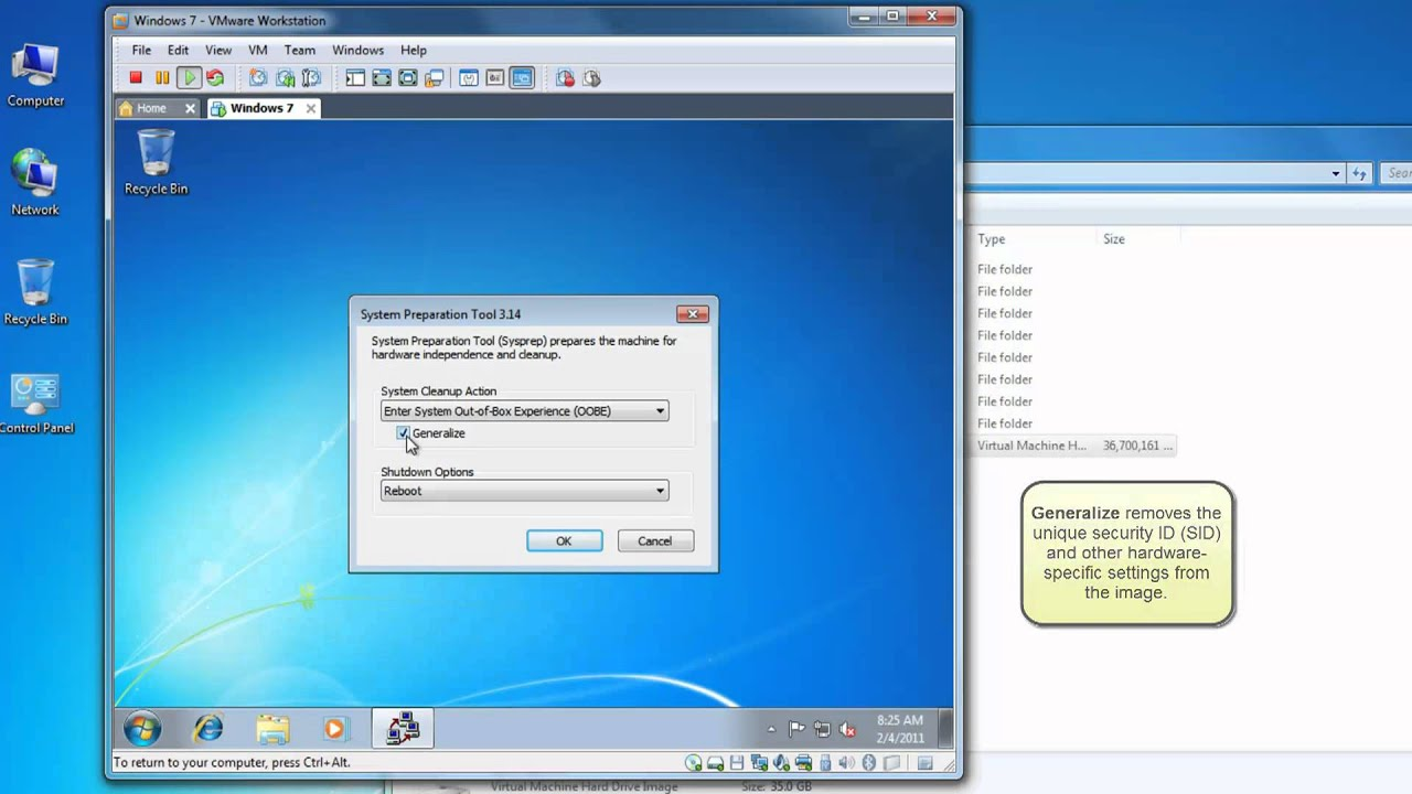 Windows 7 application preinstall and image capture youtube for Image capture