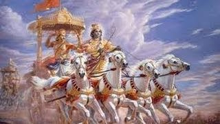 Gita updesh by krishna Chapter 2 (Sanskrit text and English Meanings)