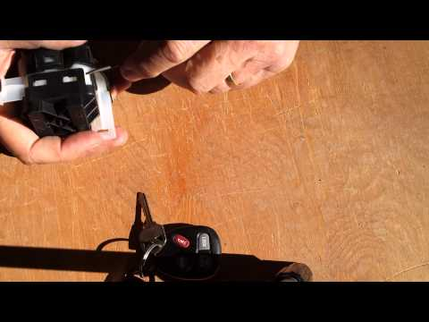 2001impala ignition switch dismantling and cleanin