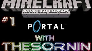 Minecraft: XBOX 360 Edition - Portal Puzzle Map and Download - Ep. 1