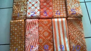 Kain Batik Murah Satu Warna