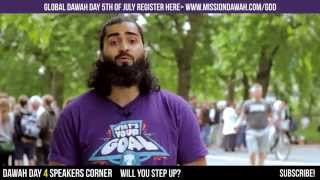 WORLD CUP DAWAH - DAY 4 SPEAKERS CORNER #LDMREMINDERS