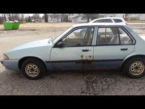 Used 1990 Chevrolet Cavalier For Sale In Michigan U4681