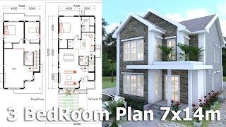 Video SketchUp Modeling Home Plan 7x14m download MP3, 3GP, MP4, WEBM, AVI, FLV Desember 2017