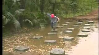 Takeshi's Castle - Skipping Stones