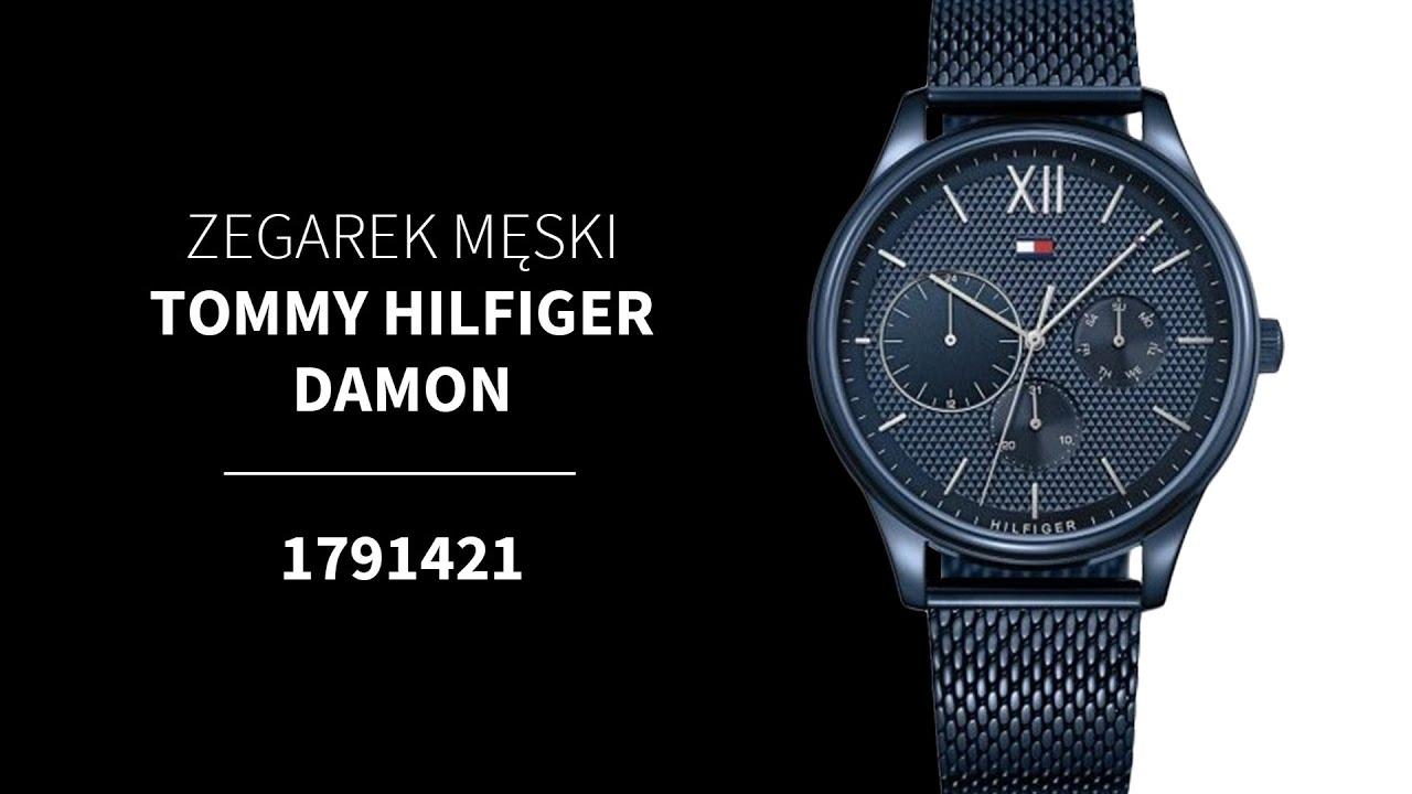 5703139b16375 Zegarek Tommy Hilfiger Damon 1791421