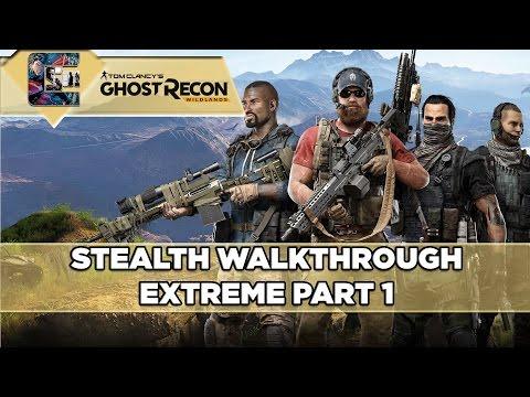 Ghost Recon: Wildlands Walkthrough (Extreme) - Part 1 - Amaru's Rescue W/Giveaway's