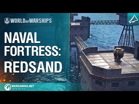 World of Warships - Naval Fortress: Redsand
