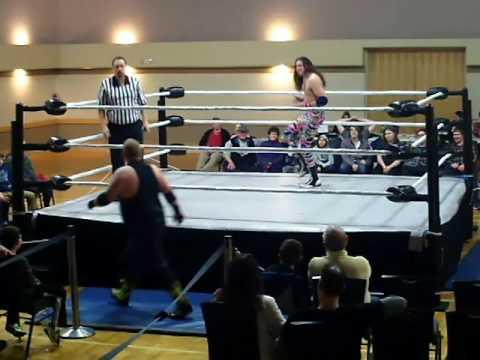 PWA Champion, Eddie Osbourne vs Nolan James - PWA