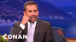 Steve Carell Improvises Some New Characters - CONAN on TBS thumbnail