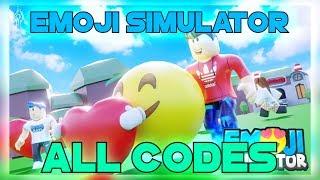 Roblox 😂Emoji Simulator TOUS CODES! Des codes secrets !