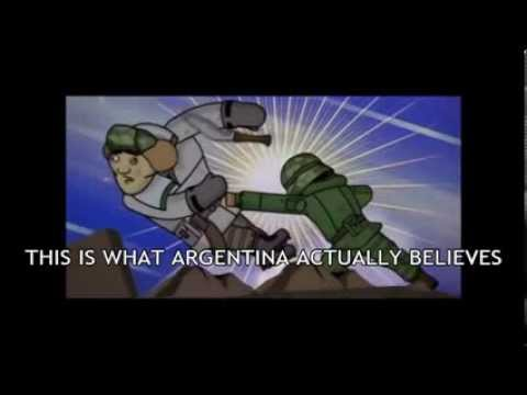 Argentine Falklands Cartoon - English Sub
