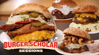 How to Make 4 Regİonal Smashburgers (Round 3) | Burger Scholar Sessions