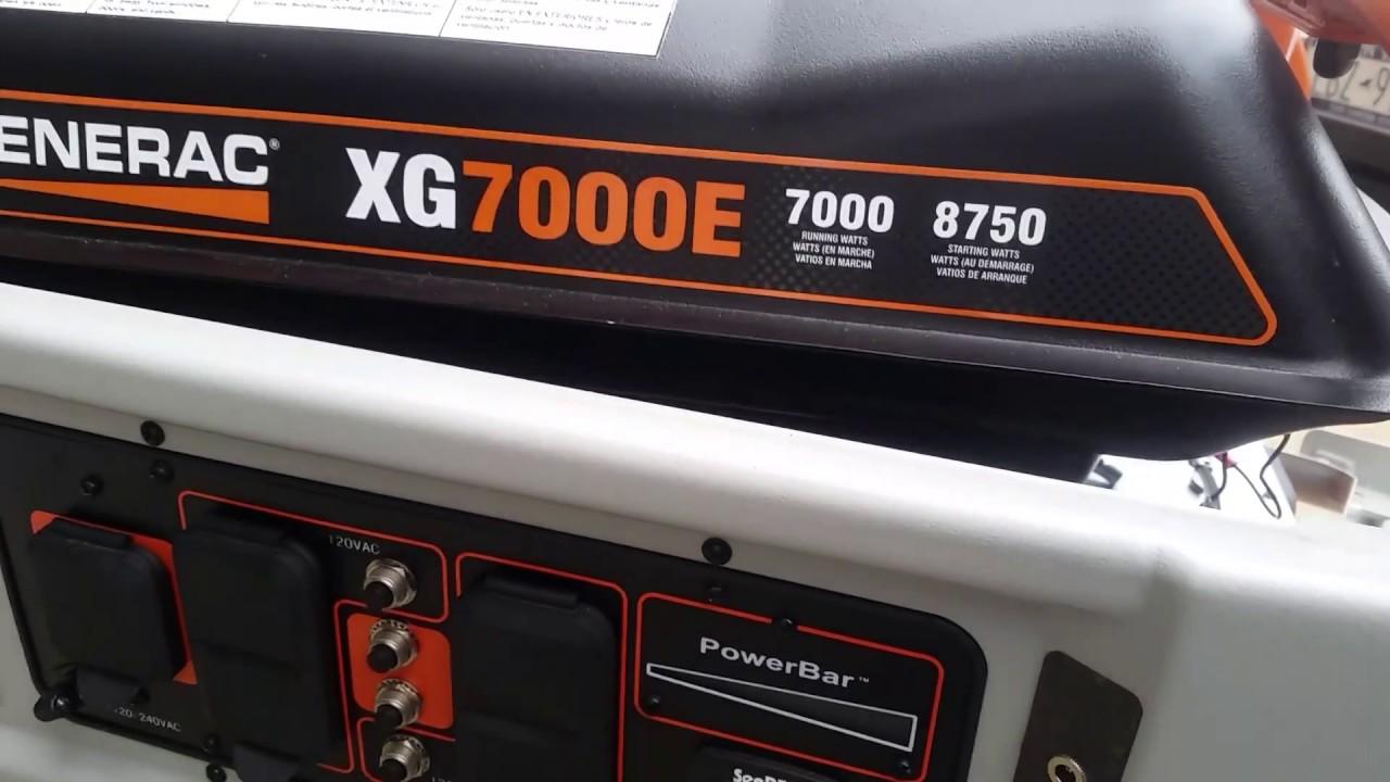 generac xg7000e generator battery change [ 1280 x 720 Pixel ]