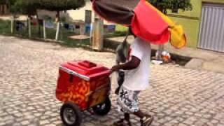 Vendedor de picolé de Pau dos Ferros - RN (Dá 1 pra mim mamãe!)