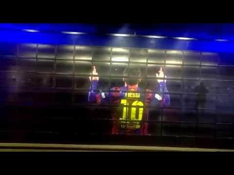 Barcelona stadium..