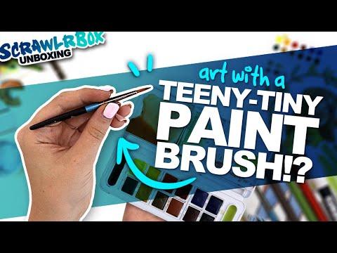 watercolor-+-colored-pencils-=-???-|-mystery-art-box-|-scrawrlbox-unboxing