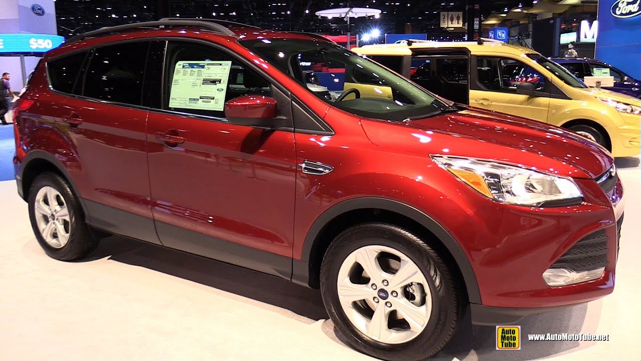 2015 Ford Escape Se Exterior And Interior Walkaround 2015 Chicago Auto Show Youtube